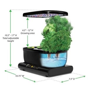 AeroGarden Review AeroGrow 901040 1101 Miracle Gro