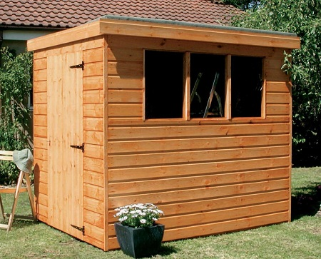 8x6' Pent Garden Shed