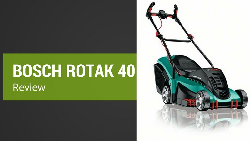 review of the bosch rotak 40 ergoflex electric rotary lawnmower. Black Bedroom Furniture Sets. Home Design Ideas
