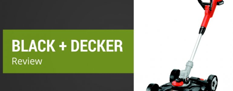 Review of the Black + Decker STC1820CM-GB 18V Lithium Strimmer