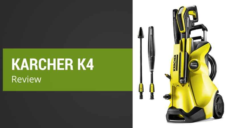review of the karcher k4 full control pressure washer. Black Bedroom Furniture Sets. Home Design Ideas