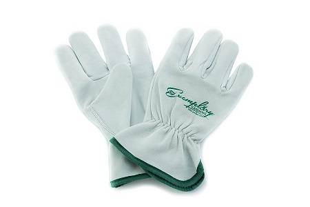 Heavy Duty Goatskin Leather Work Gloves for Men and Women. General Purpose Utility, Driver, Rigger, Safety, and Gardening Gloves