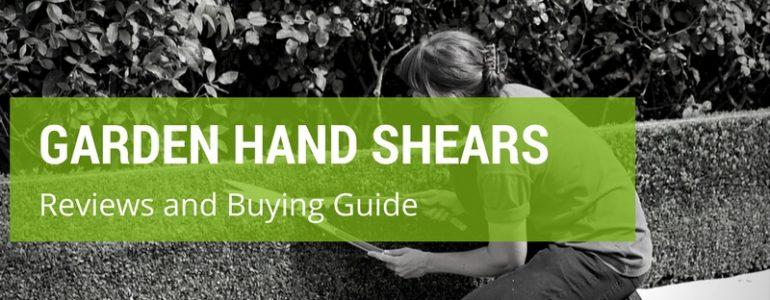 best garden hand shears