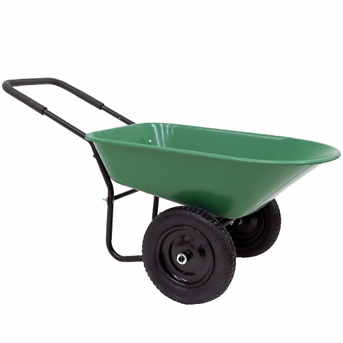 Oypla Heavy Duty Plastic Wheelbarrow review