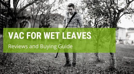 best garden vac for wet leaves