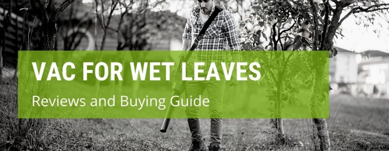 best garden vac for wet leaves
