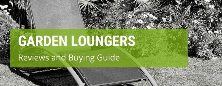 best garden loungers
