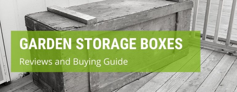 best garden storage box