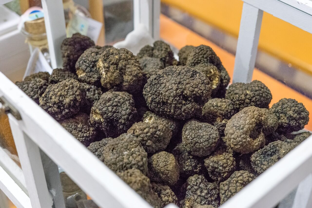 what goes with truffles
