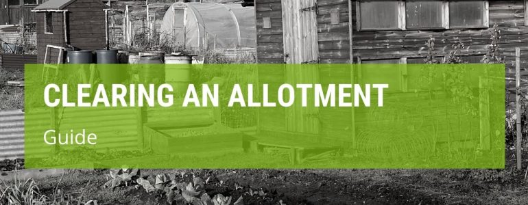 How To Clear An Allotment Of Weeds?